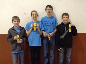 Argonia Team--Noah, Zach, Aubreigh, Riley