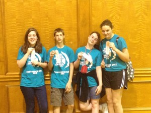 4th: Northridge Blue--Rachel Harvey, David, Kintzel, Emma Price, Kassie Kinniburgh