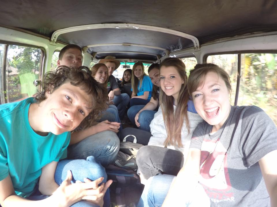 Riding together in the back of this land cruiser multiple times a day is where most of our team bonding was done!